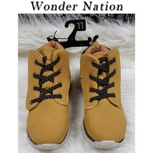 Wonder Nation Tan Boots Size 11 NWT